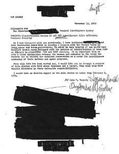 JFK's Memo on UFOs