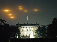 UFOs Over White House