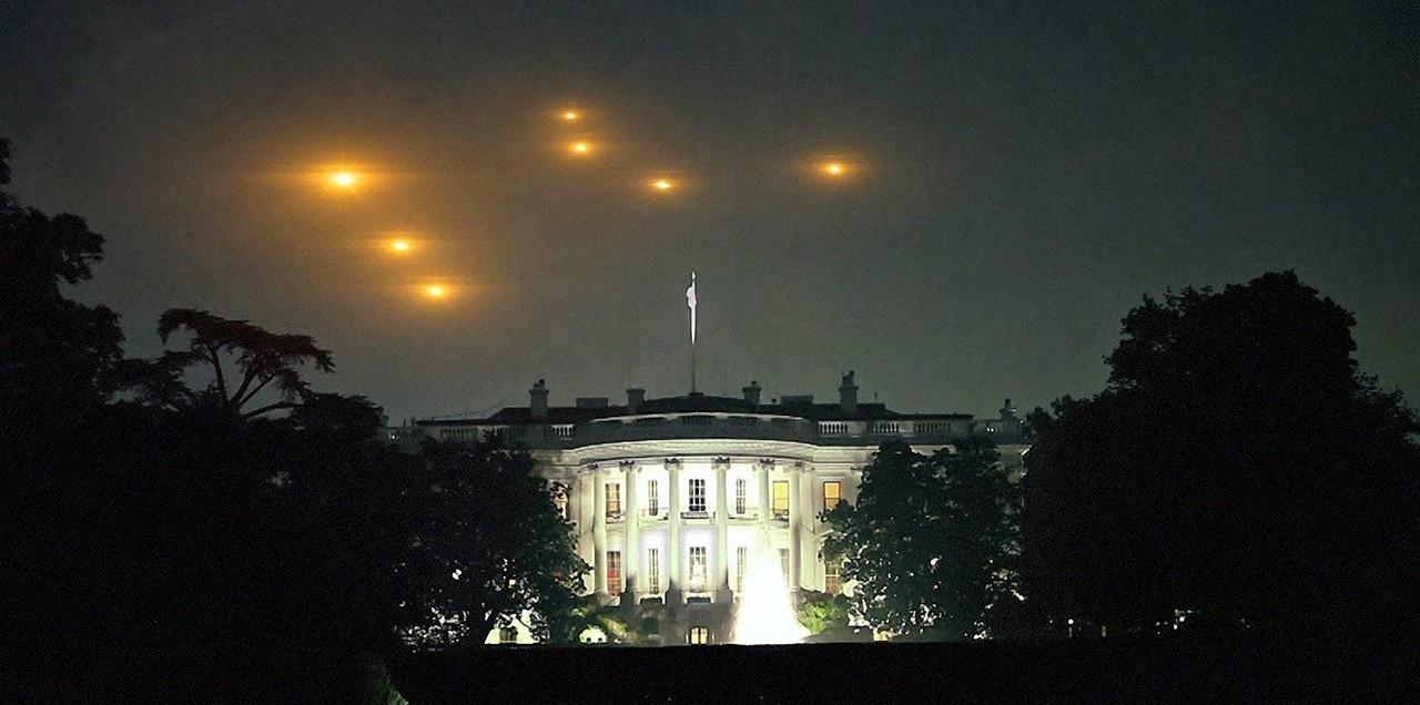 Risultati immagini per the white house, UFO Nixon
