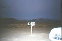Area 51 Black Mailbox