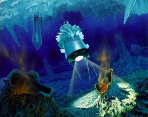 NASA'S JUICE Probe Beneath the Oceans of Europa