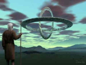 Ezekiel confronts the great wheels of the ancient aliens